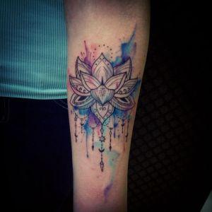 tatuaj lotus mandala