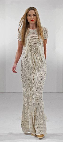 rochie maxi tricotata
