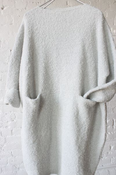 rochie tricotata alba