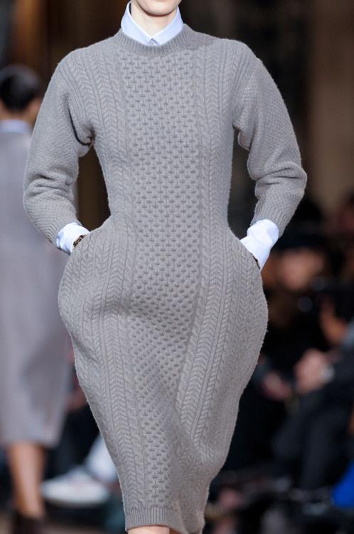 rochie tricotata gri 2