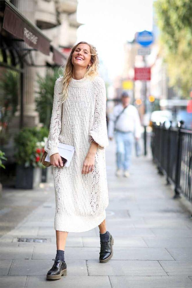 rochie tricotata maxi