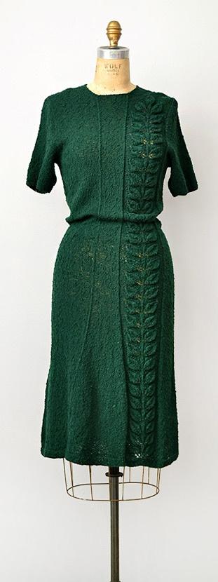 rochie tricotata retro
