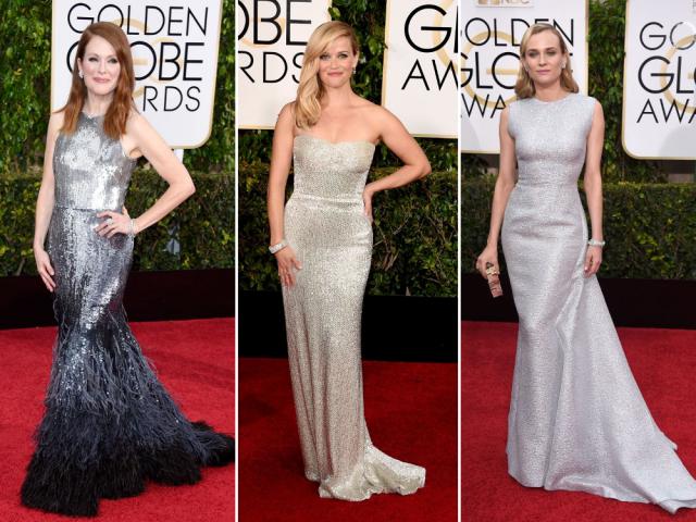Cele mai frumoase rochii la Globurile de Aur 2015.