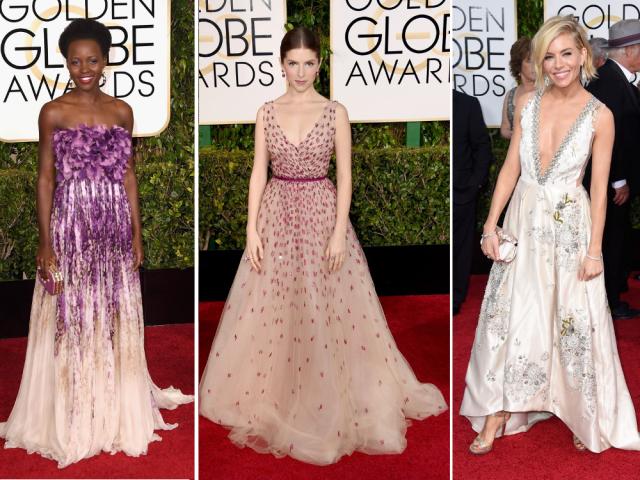 Cele mai frumoase rochii la Globurile de Aur 2015