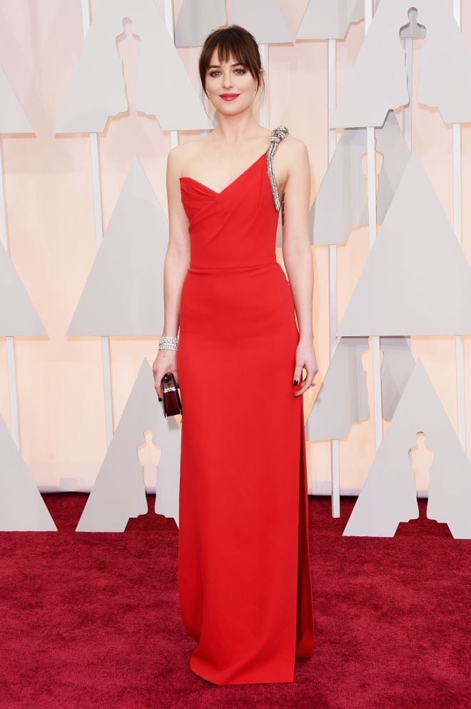dakota johnson premiile oscar 2015