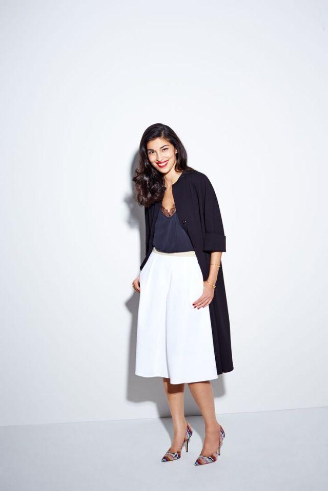 Culottes si jacheta lunga