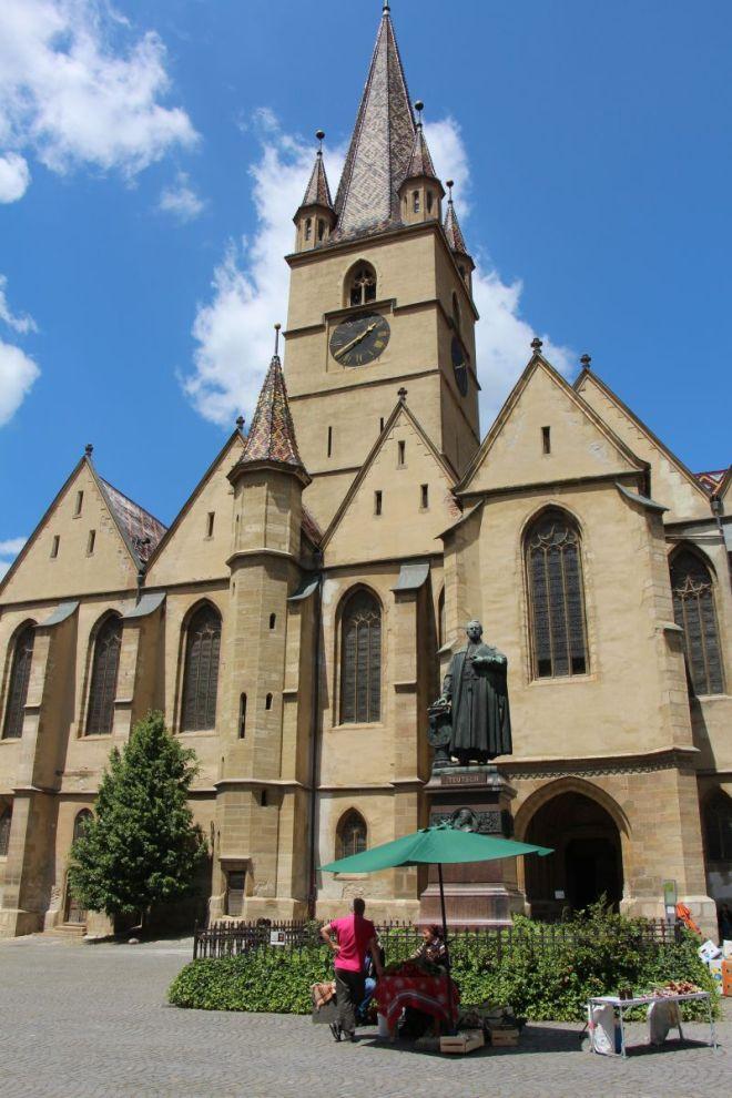 biserica evenghelica sibiu