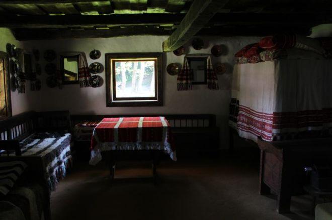 interior muzeul satului sibiui