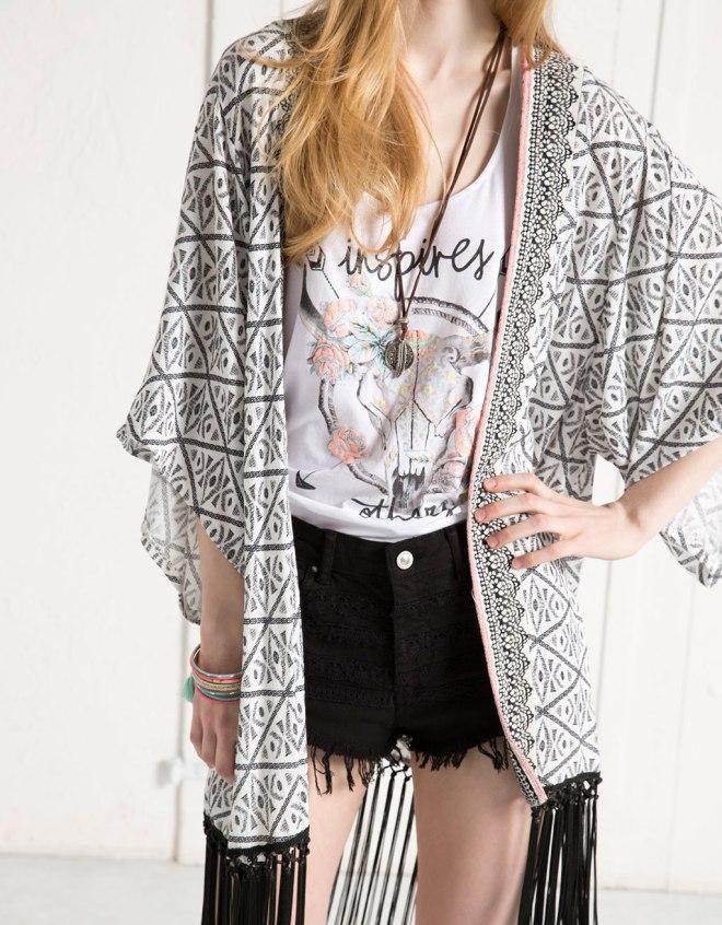 kimono 189 lei bershka