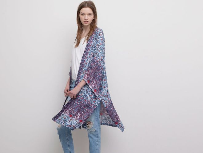 kimono bershka 169.90 lei