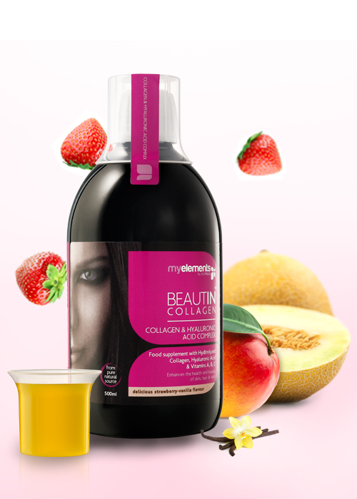 BEAUTIN COLLAGEN Packshot si measure cup