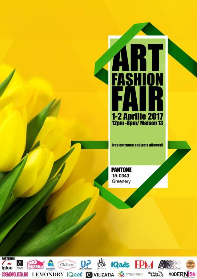 Afis Art Fashion Fair 1-2 Aprilie FB