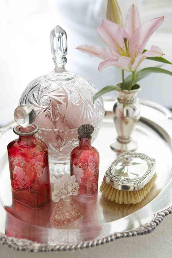 sticle vintage parfumuri